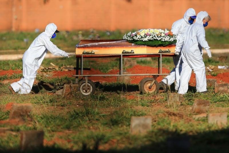 Projeção aponta que número de mortes por covid-19 no Piauí em maio desse ano vai ultrapassar todo 2020