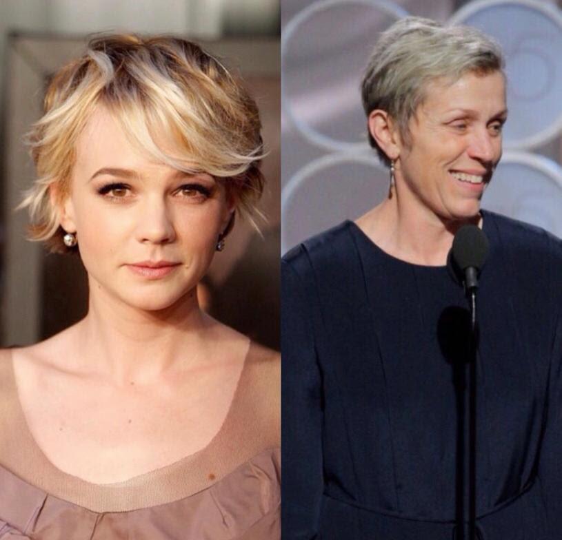 Principais tendências de cabelos no Oscar 2021 (Instagram   Divulgação CO Assessoria)