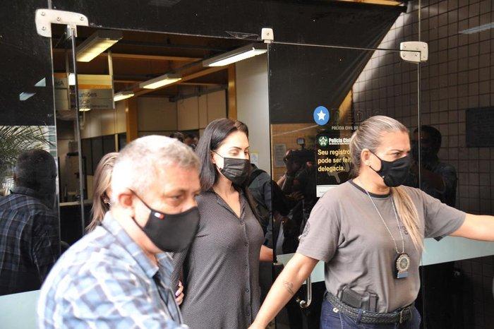 Monique Medeiros mudou a versão sobre a morte de Henry e diz que Dr. Jairinho era violento - Foto: Estadão Conteúdo