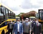 Piauí recebe 32 ônibus escolares do Ministério da Educação; fotos