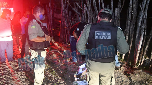 Ex-presidiário é assassinado com um tiro na cabeça em Parnaíba- Foto: Click Parnaíba