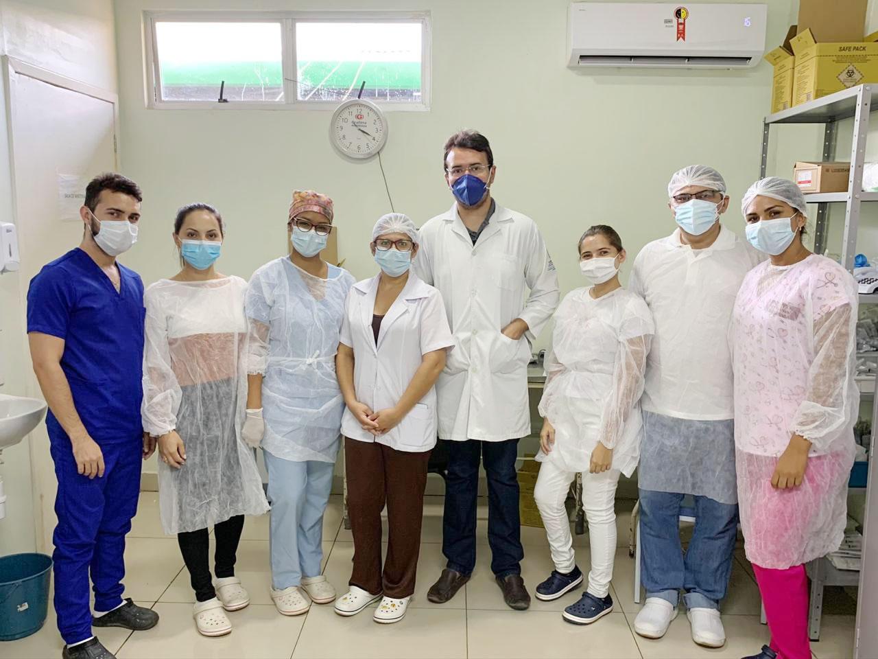 Equipe do Hospital Justino Luz, em Picos, recebe premiação internacional