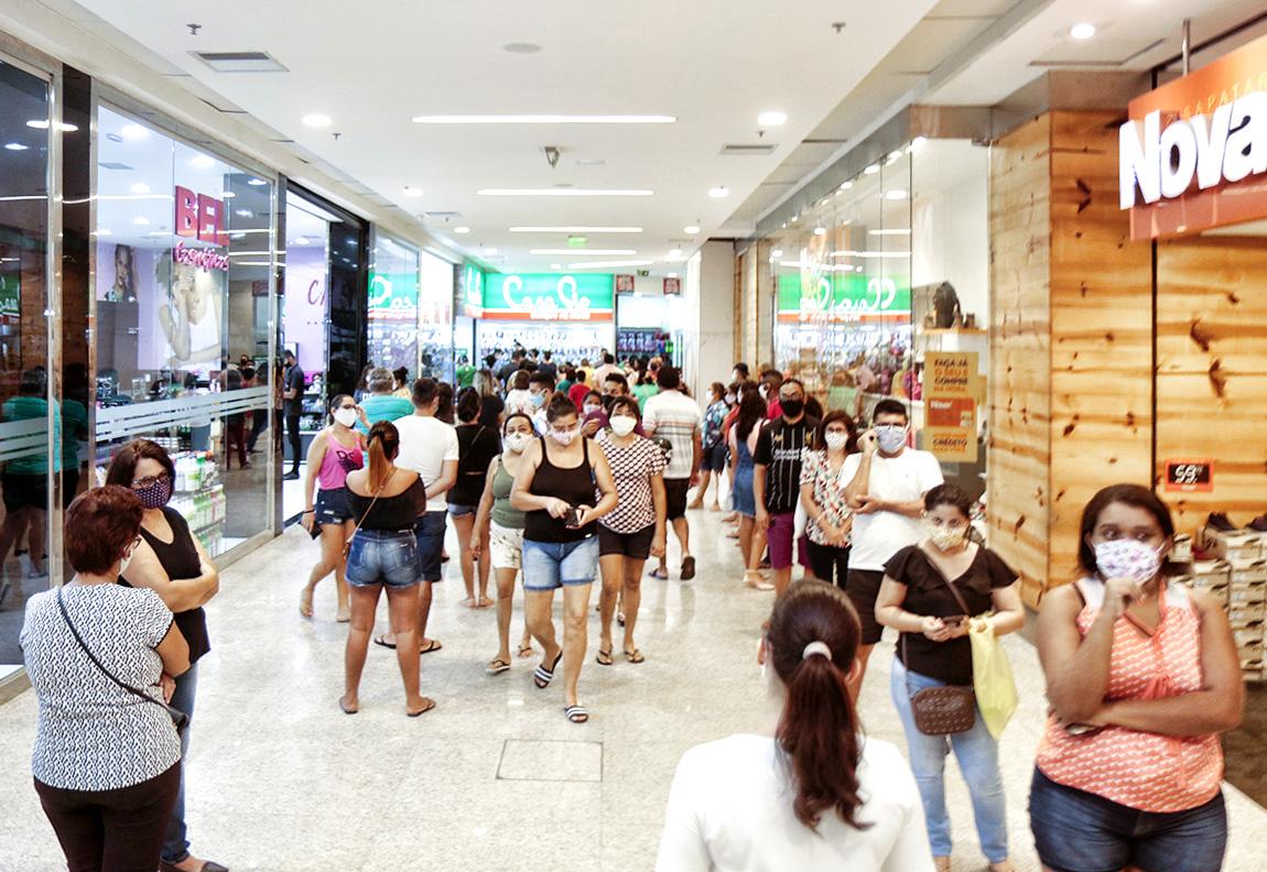 Shoppings de Teresina só podem funcionar até sexta - Foto: Reprodução