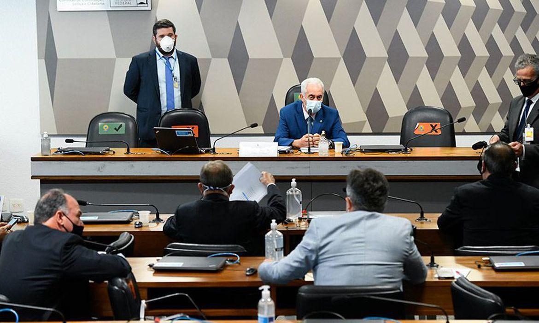CPI da Covid é instalada e Renan Calheiros é confirmado relator Foto: Jefferson Rudy