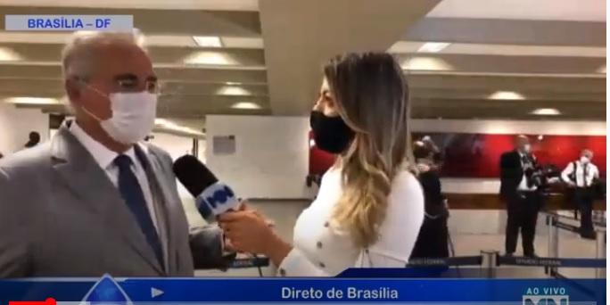 Renan Calheiros diz que Flávio Bolsonaro vai além do negacionismo - Imagem 1