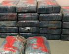 Banhista acha 25 pacotes com cocaína avaliados em R$ 8 milhões