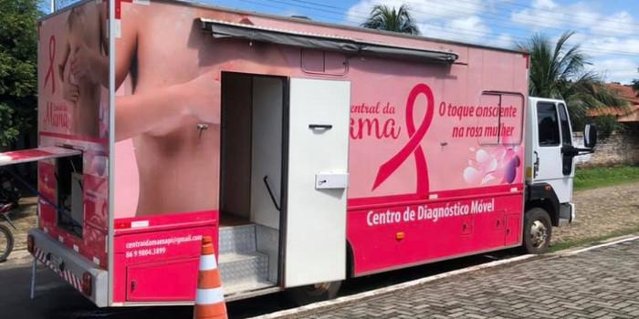Secretaria de Saúde realiza exames de câncer de mama