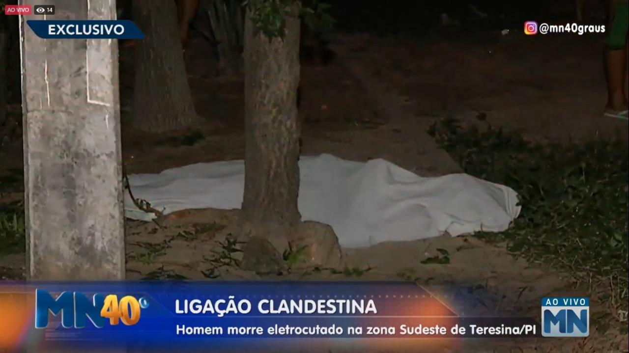 Homem morre eletrocutado após tentra fazer ligação clandestina em Teresina (Meio Norte)