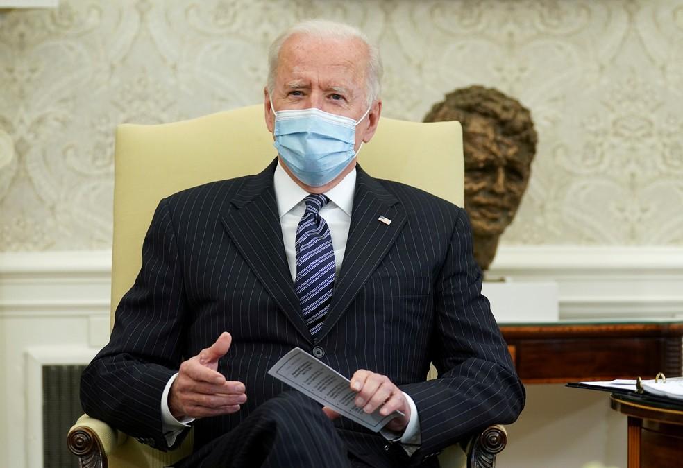 Presidente dos EUA, Joe Biden (Foto: Kevin Lamarque/ Reuters)