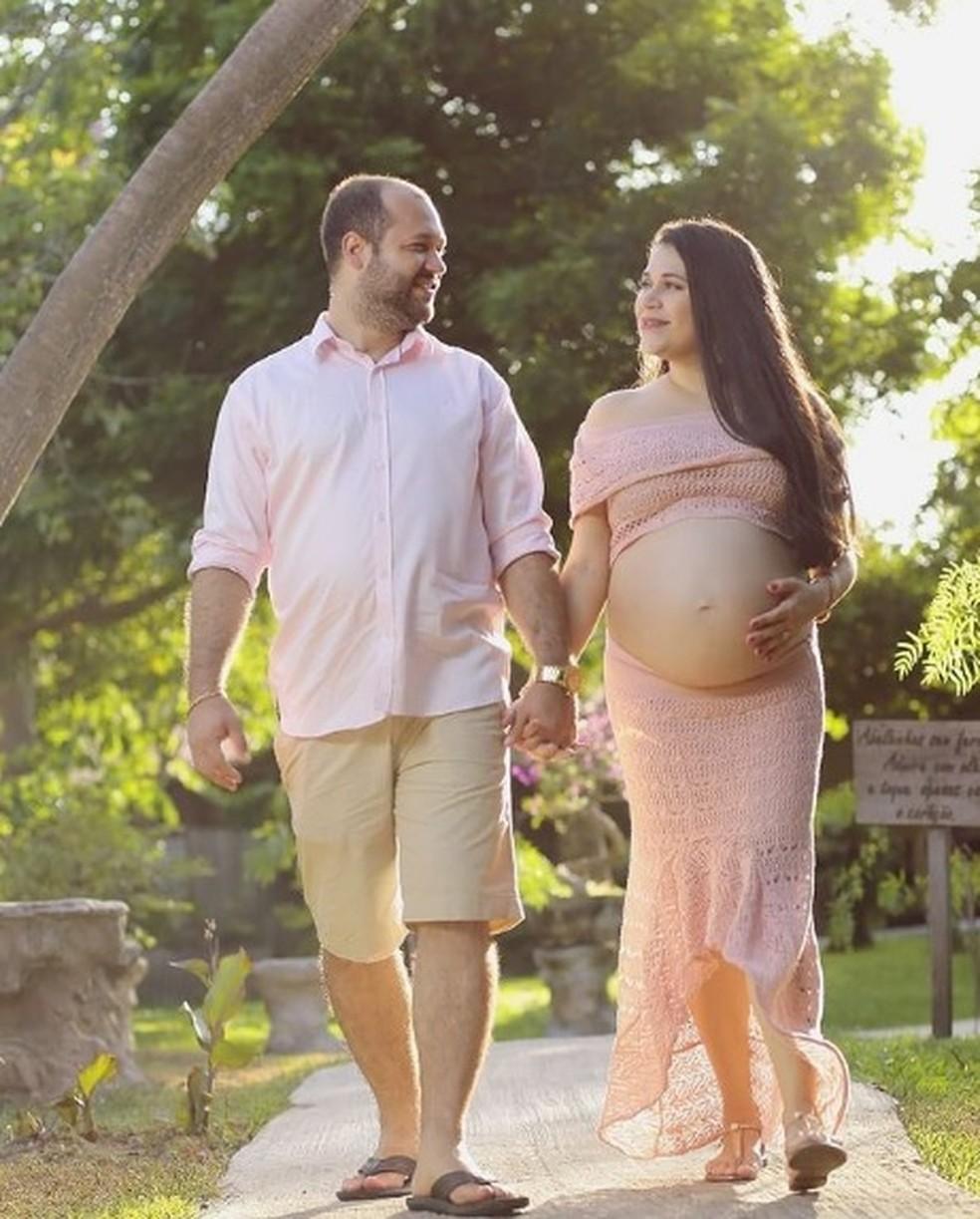 A professora Juliana e o marido Hernandes morreram por covid com menos de um mês de diferença