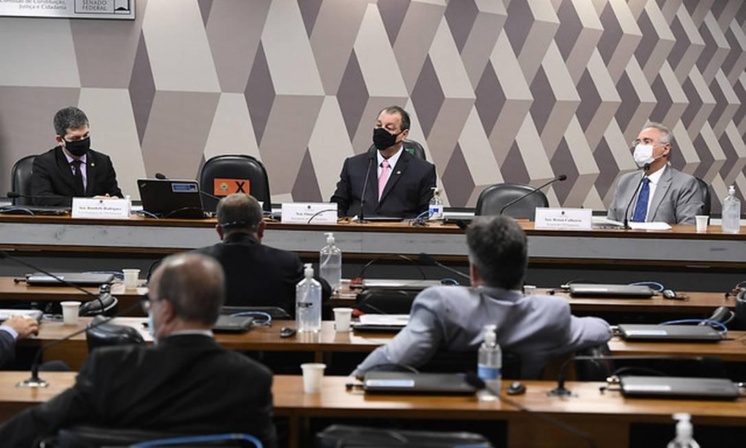 Comissão Parlamentar Mista de Inquérito da Pandemia Foto: Jefferson Rudy / Jefferson Rudy/Agência Senado