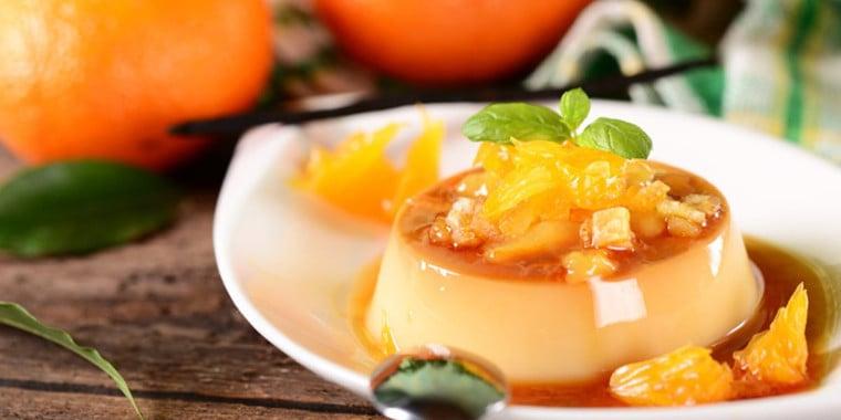 Arrase na cozinha e faça uma receita de sobremesa de laranja