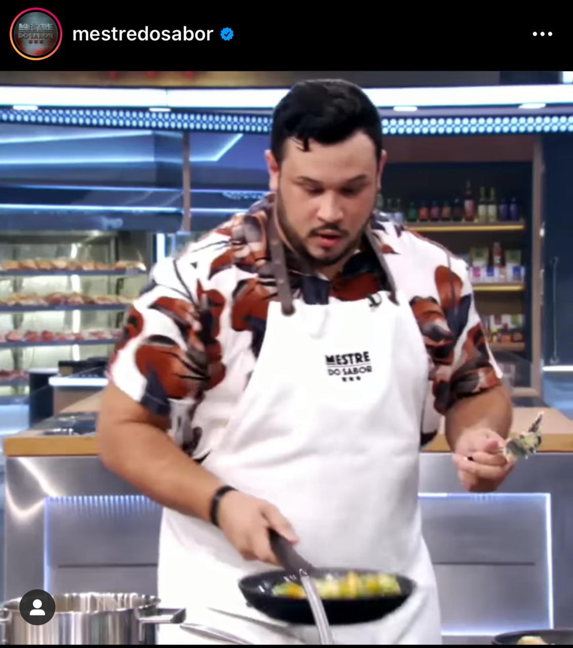 Chef Herschel Veras vai participar da nova edição do reality Mestre do Sabor