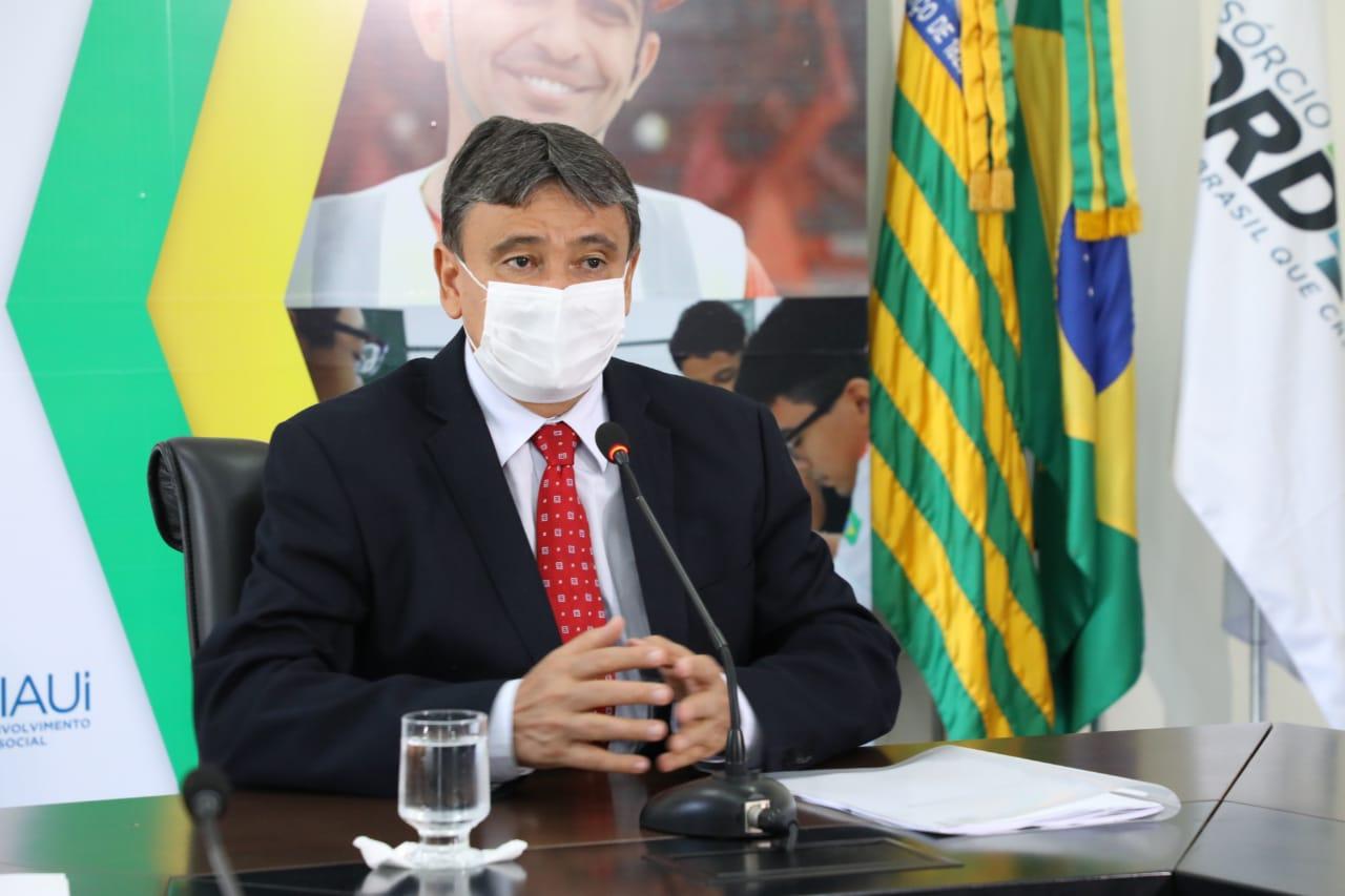 O governador do Piauí disse que alertou a Pazuello para o buraco nas entregas de abril (Foto: CCOM)