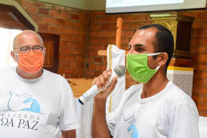 Célio Barbosa, coordenador da Fazenda da Paz (Foto: reprodução)