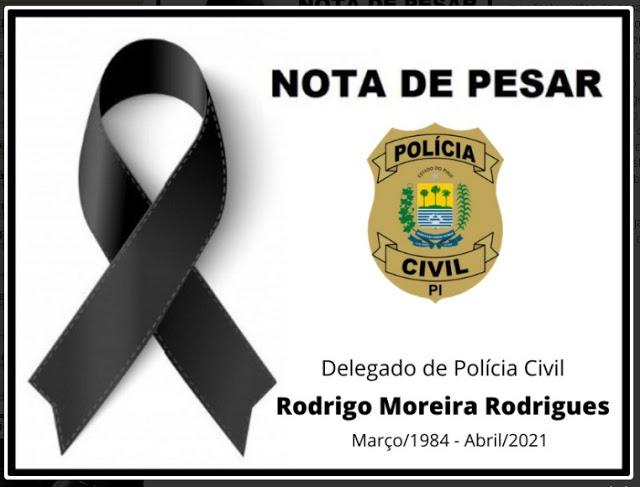 Delegado Rodrigo Moreira é encontrado morto em apartamento em THE - Imagem 2