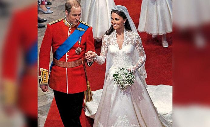 Casamento real de Kate e Willian completa 10 anos. (Foto: Reprodução - Daily Mail)