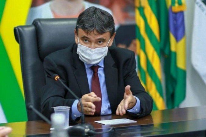 Wellington Dias destacou o empenho em garantir a segunda dose (Foto: Roberta Aline/Divulgação)