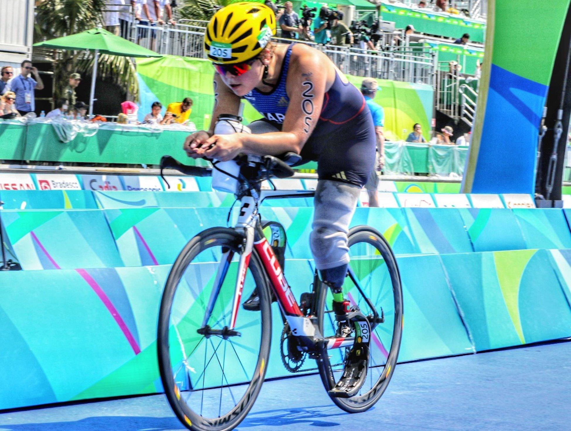 Foto mostra o talento do piauiense João Maia na cobertura dos Jogos de 2016 (Foto: João Maia)