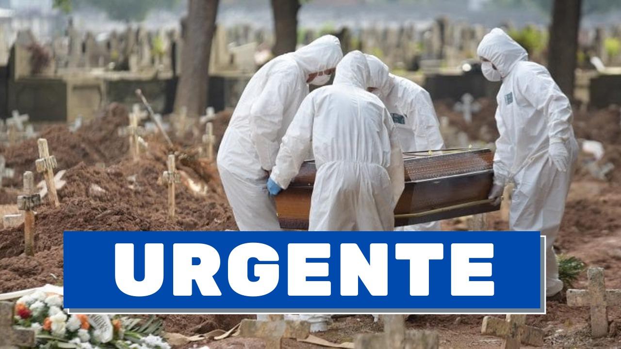 Brasil ultrapassa a marca de 400 mil mortes pela Covid-19 (Foto: Reprodução)