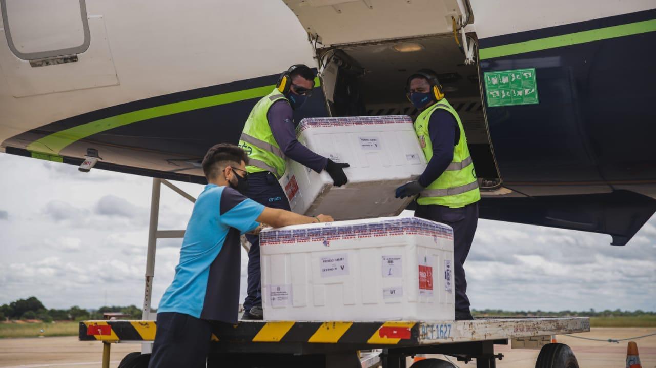 Piauí recebe mais de 70 mil doses nesta sexta-feira - Foto: Sesapi