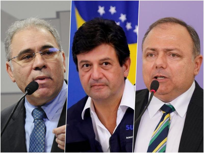 CPI da Covid aprova convocar Queiroga, Mandetta e Pazuello