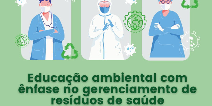 Palestra discutirá o gerenciamento de resíduos da saúde