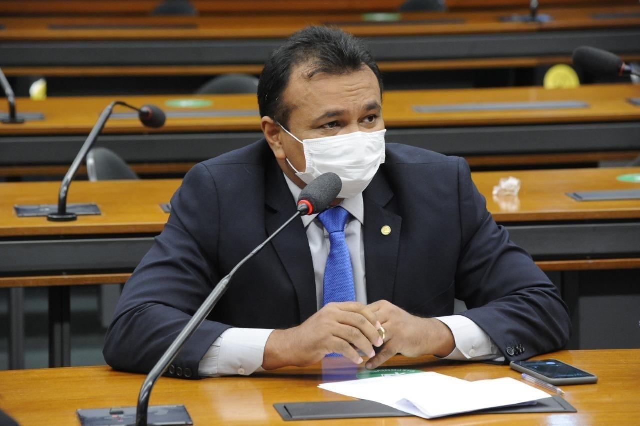 Fábio Abreu é deputado federal. Crédito: Divulgalção.
