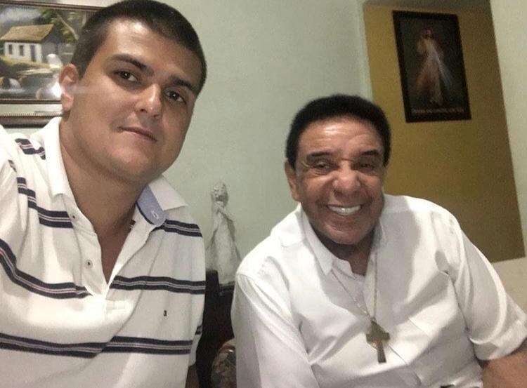 Agnaldo Timóteo, que morreu aos 84 anos, e seu filho Marcelo