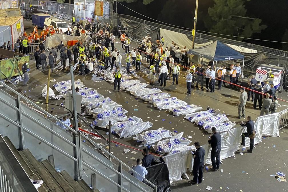Tumulto deixa 44 mortos em Israel (Foto: Reuters)