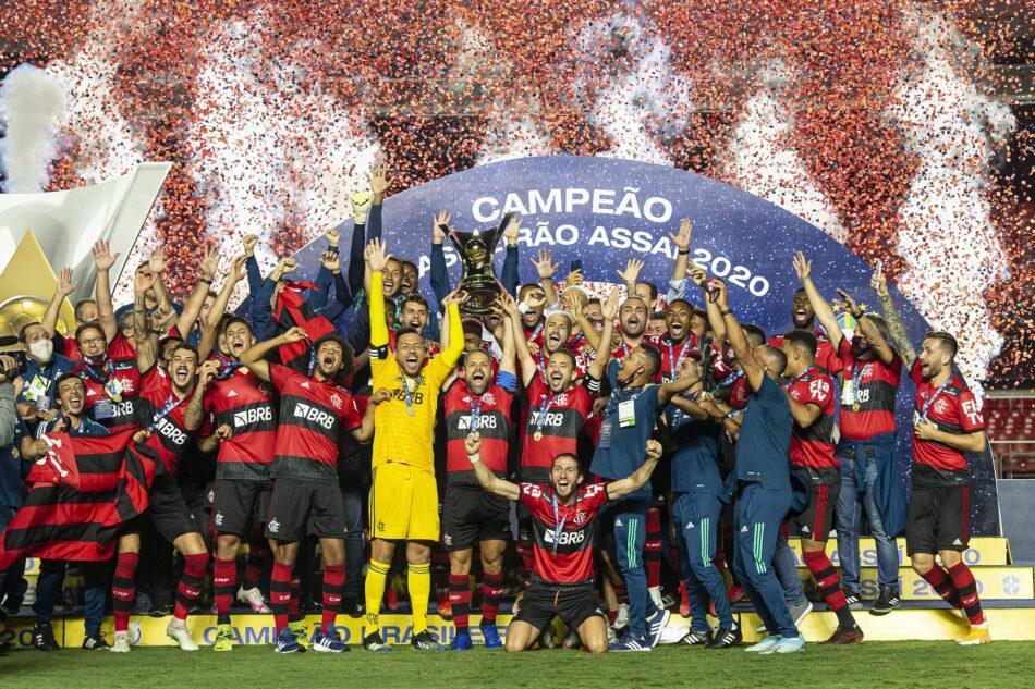 Flamengo foi o campeão brasileiro de 2020- Foto: Alexandre Vidal
