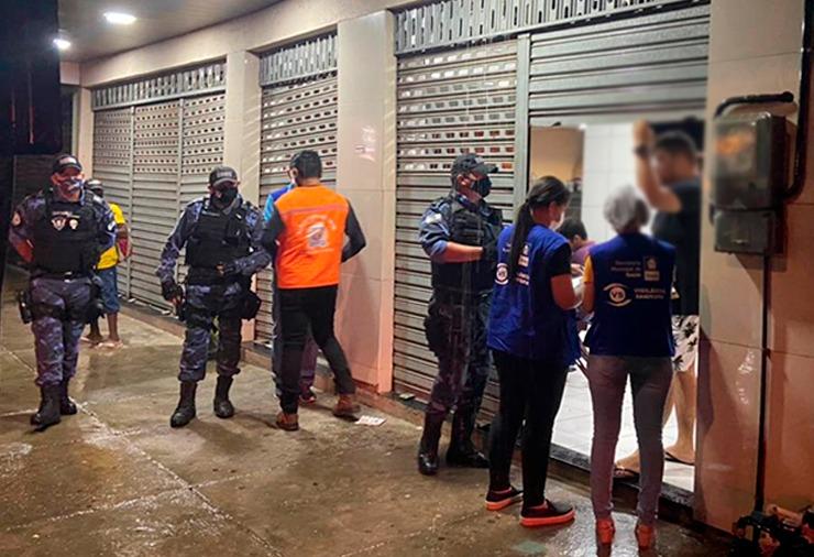 Vigilância Sanitária fiscaliza cumprimento de medidas restritivas em Timon | FOTO: Divulgação /Prefeitura de Timon