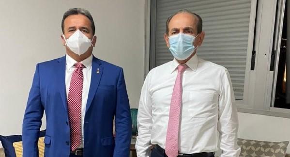 Deputado Henrique Pires esteve reunido com o senador Marcelo Castro