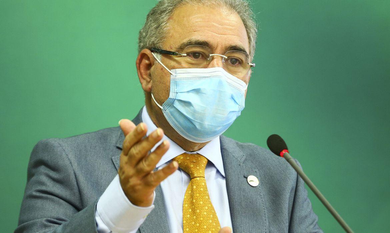 Ministro da Saúde Marcelo Queiroga (Foto: Marcelo Camargo/ Agência Brasil)