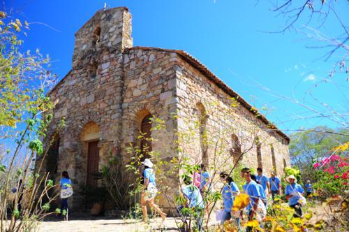 Igreja de Pedra fica em Poranga (Foto: Site Patrimônio Para Todos)