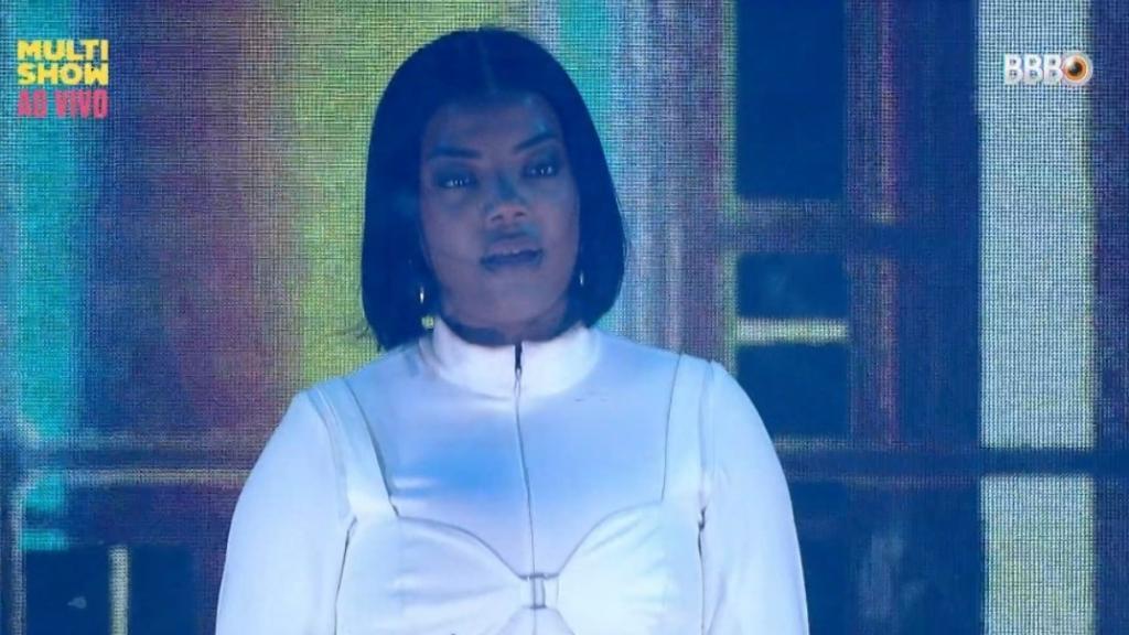 Ludmilla durante apresentação no BBB21 (Foto: Reprodução/ TV Globo)