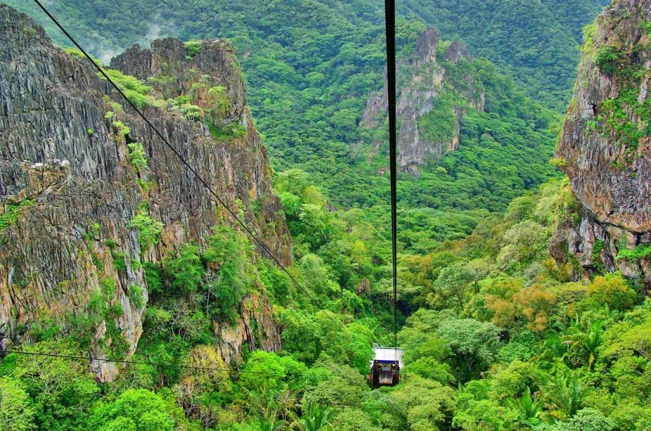 Parque tem como forte o turismo ecológico (Foto: Site Vem Também)
