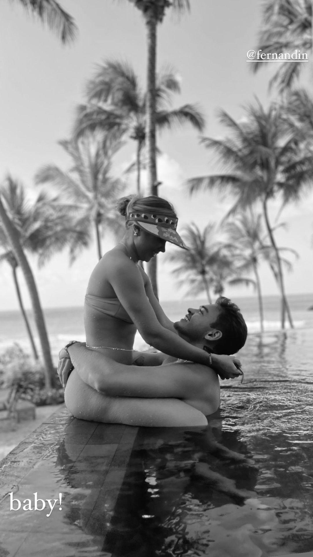 Gabi e Fernandin (Foto: reprodução Instagram)