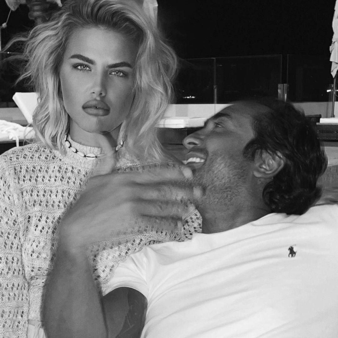 Ekaterina publicou uma foto com o empresário em clima de romance - Foto: Instagram