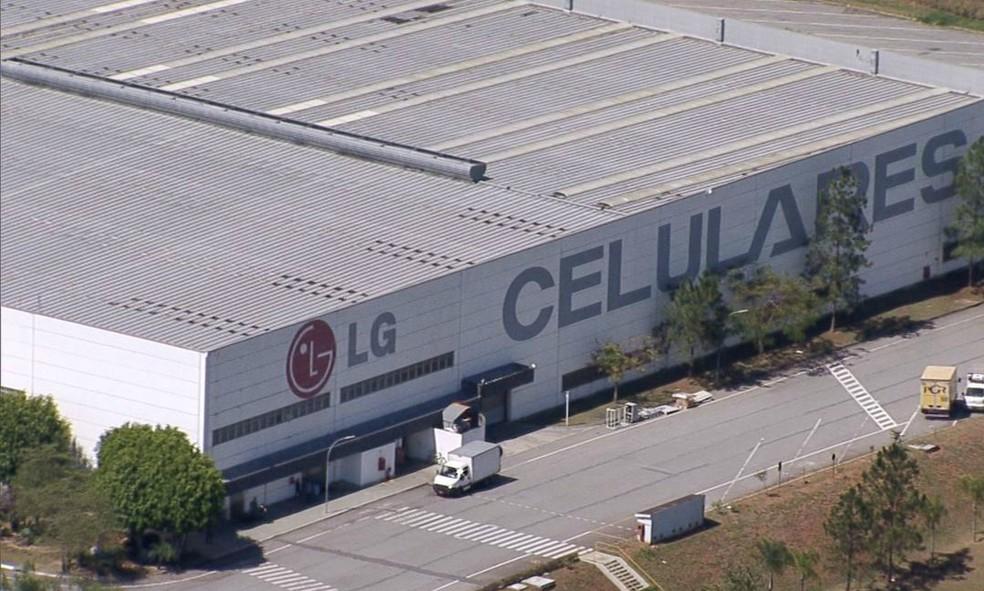 Fábrica da LG em Tabauté emprega cerca de mil funcionários - Foto: Reprodução