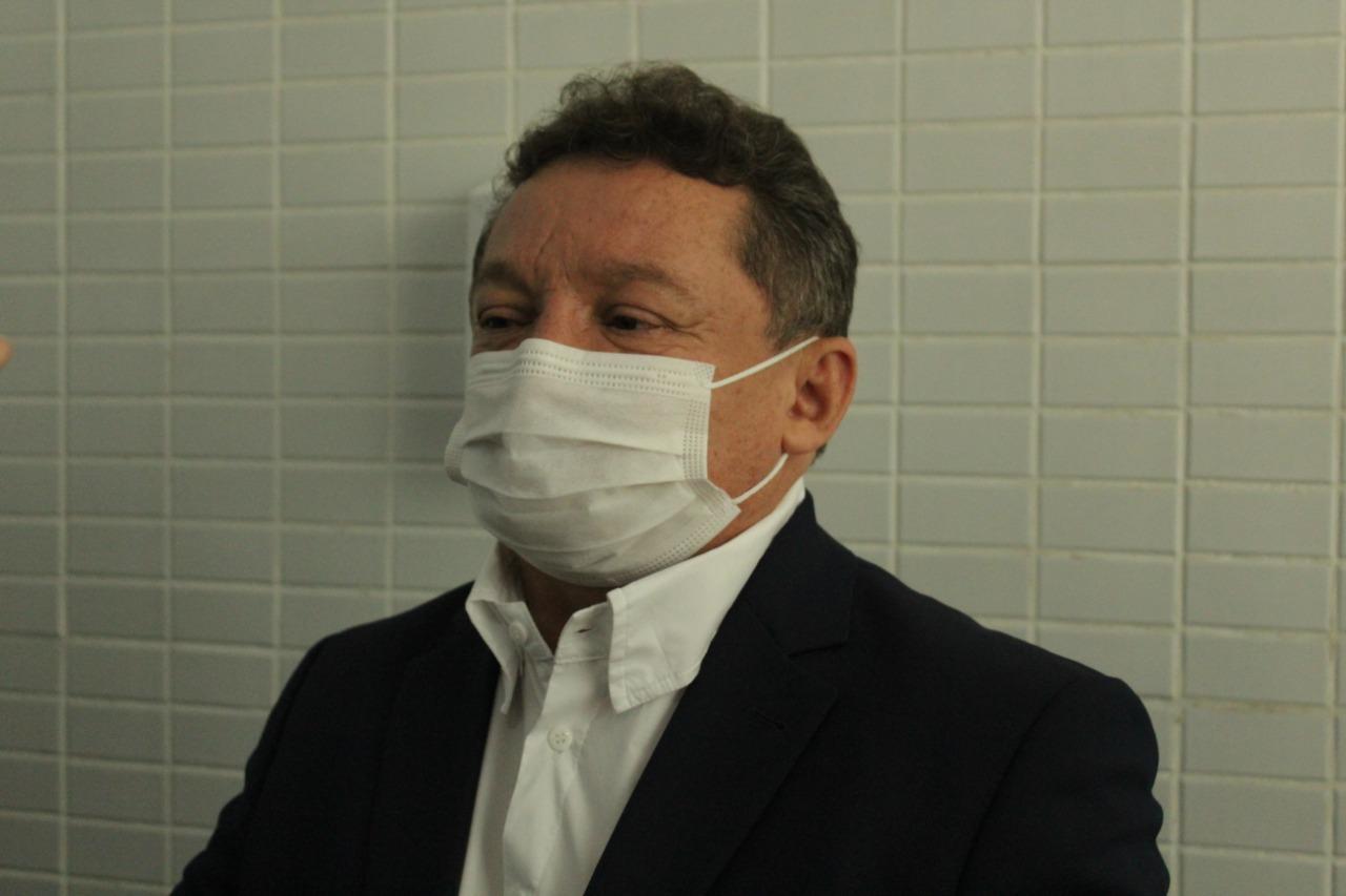 Gilberto Albuquerque, presidente da FMS (Foto: Raíssa Morais/ Portal Meio Norte)