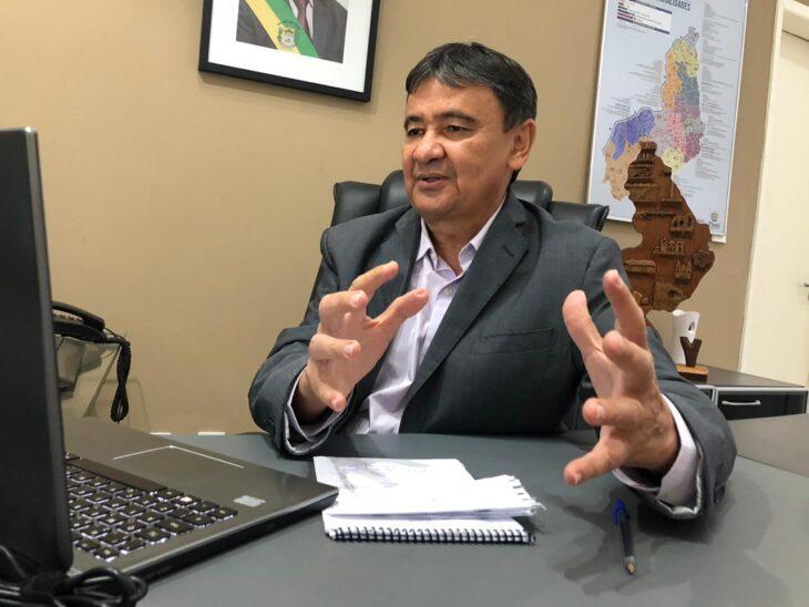 Governador Wellington Dias analisa possível feriado de 2022 para a próxima sexta-feira - Foto: Ascom