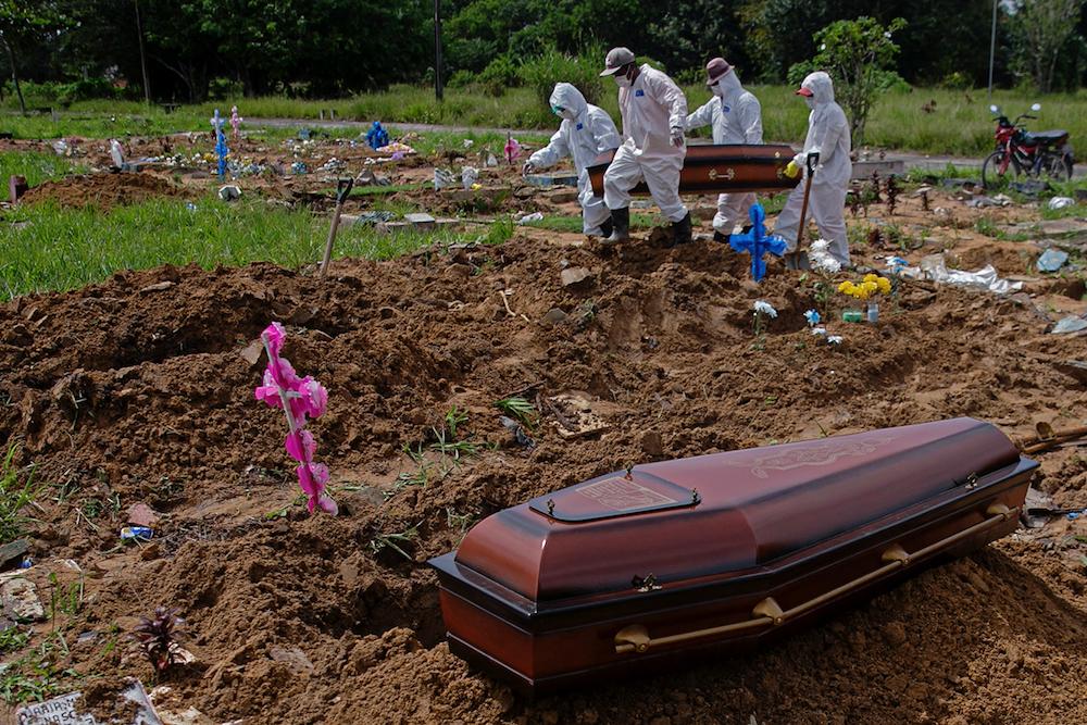 Média de idade dos óbitos por Covid cai 5 anos no Piauí - Foto: Tarso Sarraf/AFP