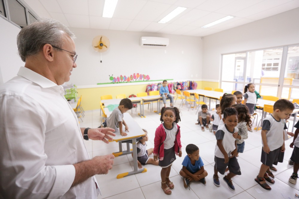 Firmino colocou a educação de Teresina no topo (Foto: Ascom/PMT)