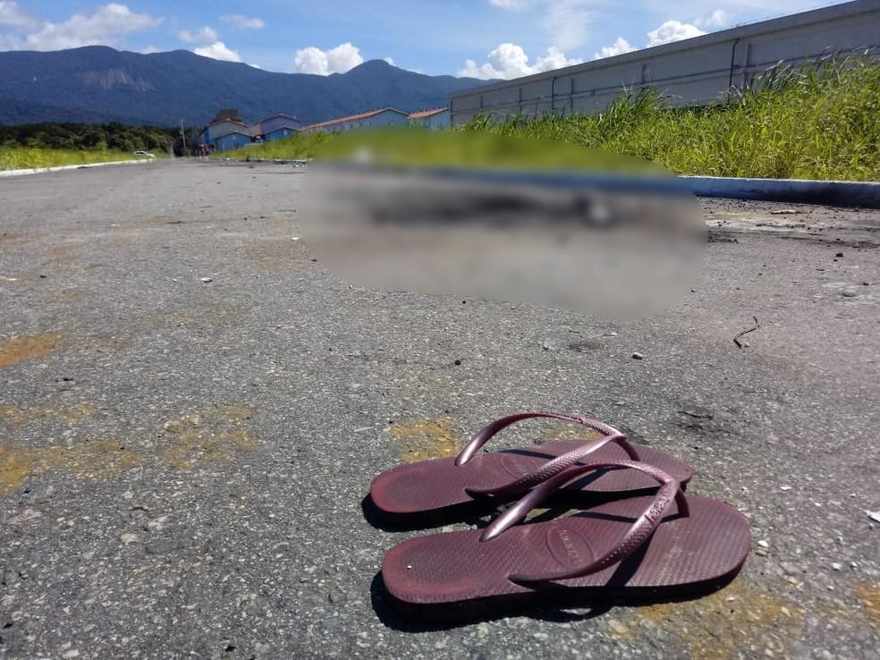 Corpo foi encontrado em Praia Grande