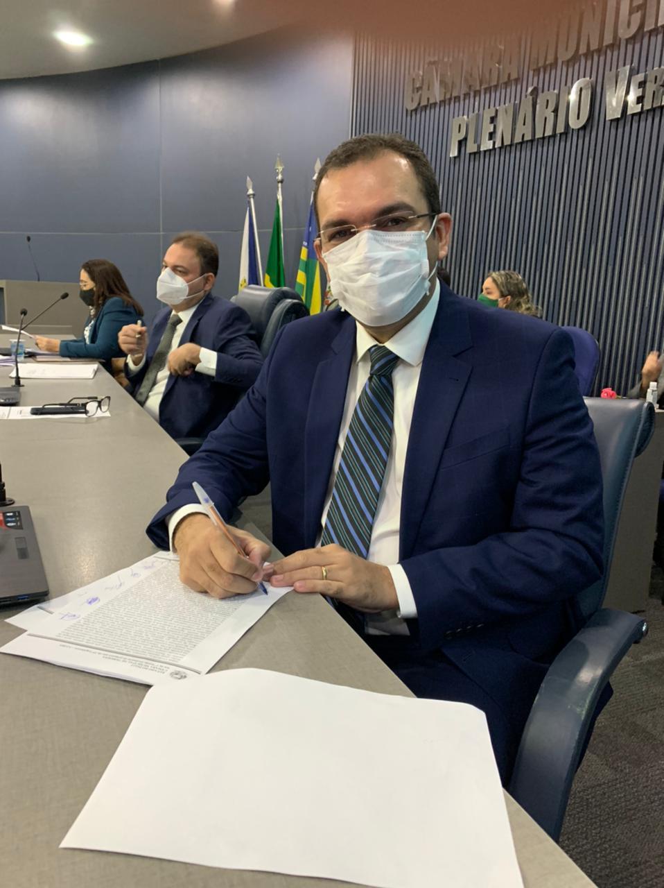 Vereador Vinício Ferreira vai apresentar requerimento na Câmara dos Vereadoeres de Teresina