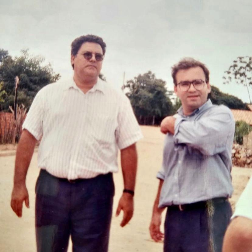 Kleber Montezuma e Firmino Filho (Foto: Arquivo MN)