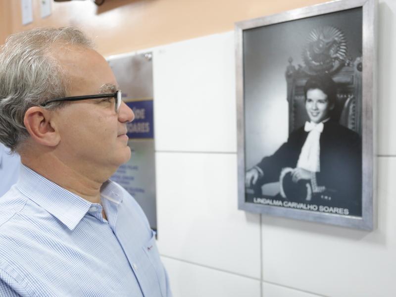 Em 2020, Firmino inaugurou a UBS Lindalma Carvalho, em homenagem à sua mãe (Foto: Ascom/PMT)