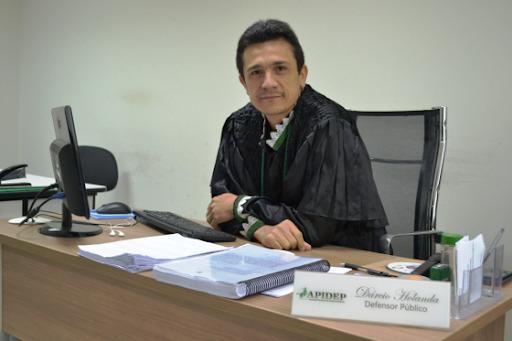 Defensor Público Dárcio Rufino de Holanda acompanha o processo
