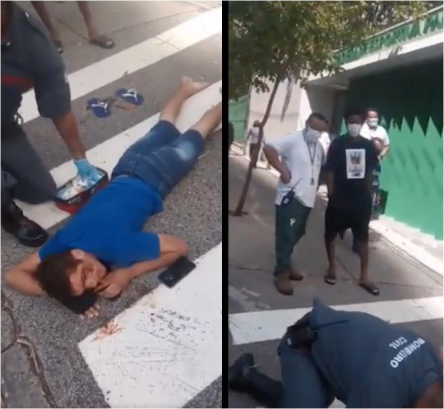 Jogador do Palmeiras atropela homem na porta de Shopping; vídeo - Imagem 1
